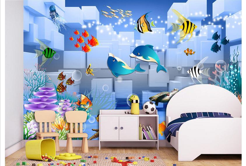 جدران اطفال ثلاثي الأبعاد