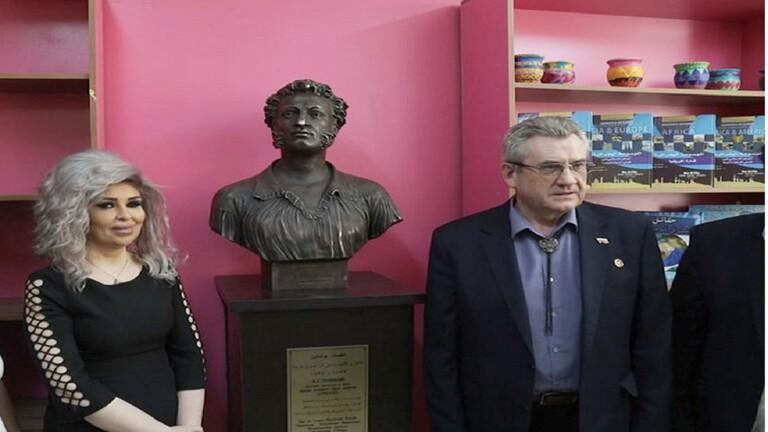 """تكريم الفائزين مسابقة """"بوشكين"""" بدمشق"""