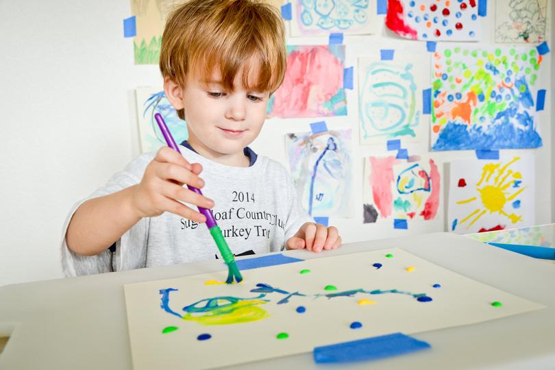 اهمية الرسم لتطوير الطفل