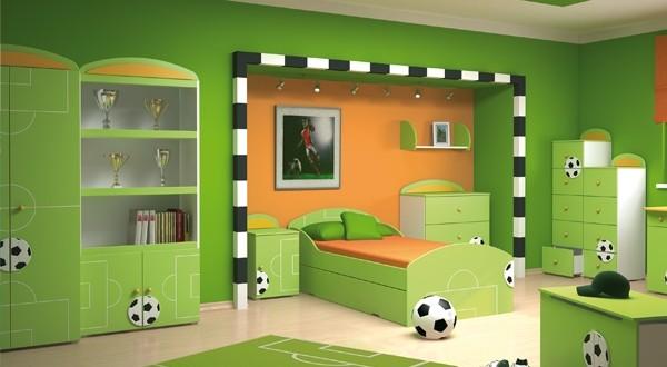 لغرف الاطفال باللون الاخضر