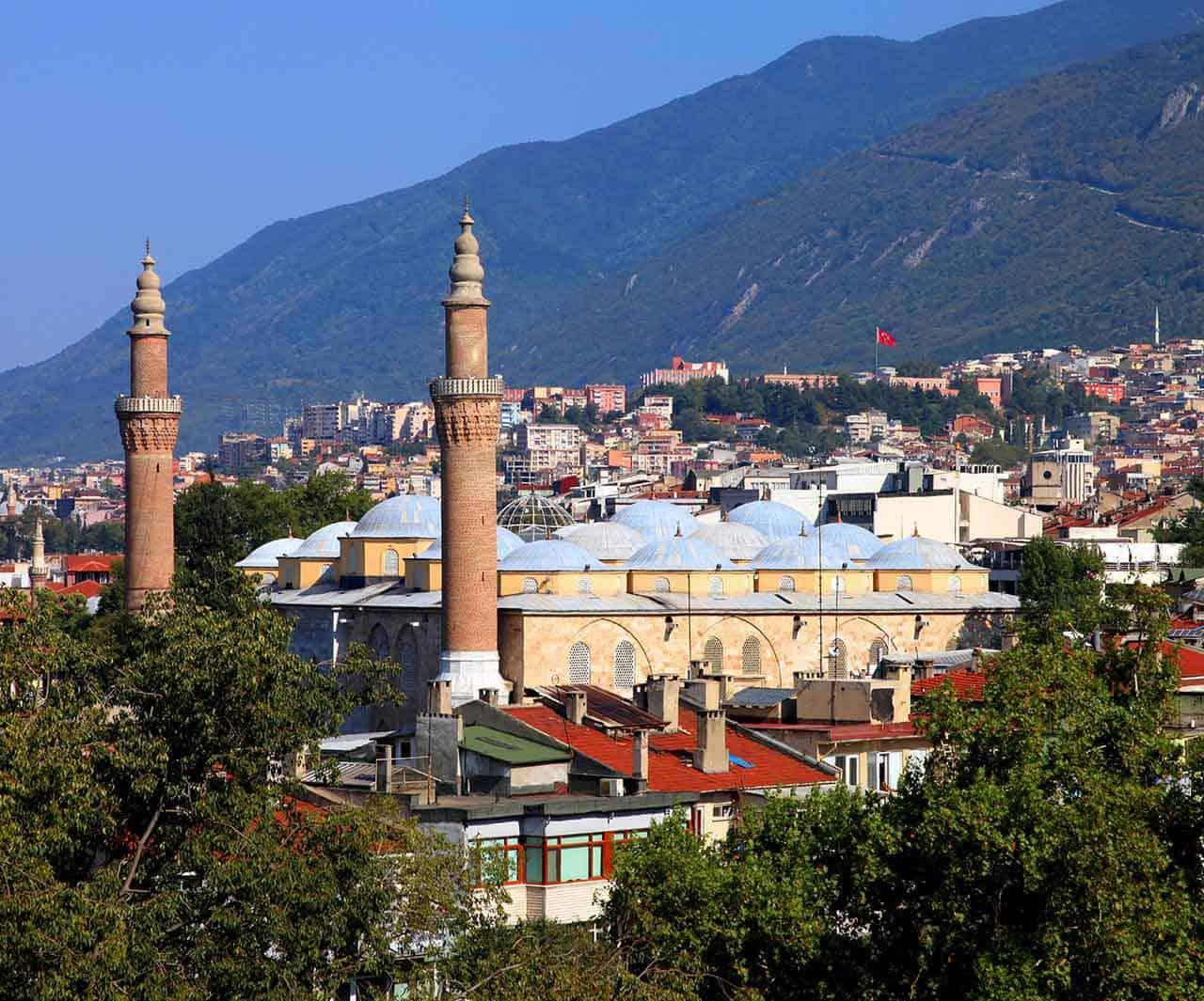 زيارة لمدينة بورصة التركية ،معلومات