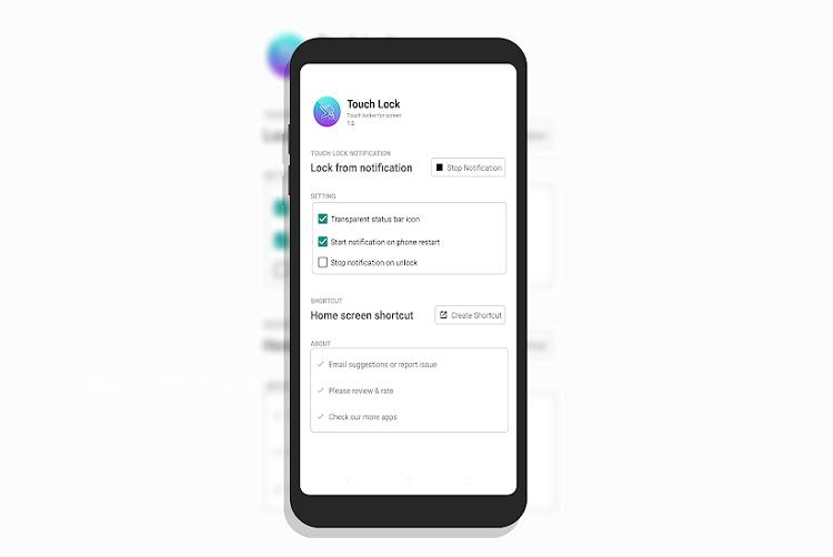 تحميل تطبيق Touch Lock اندرويد