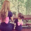 طالعة  البنت لامها. 10 صورة لفتيات  طبق الأصل نسخة من أمهاتهن 14649670561610.jpg